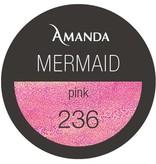 236 / Mermaid Farbgel pink