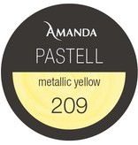 209 / Pastell Farbgel metallic yellow