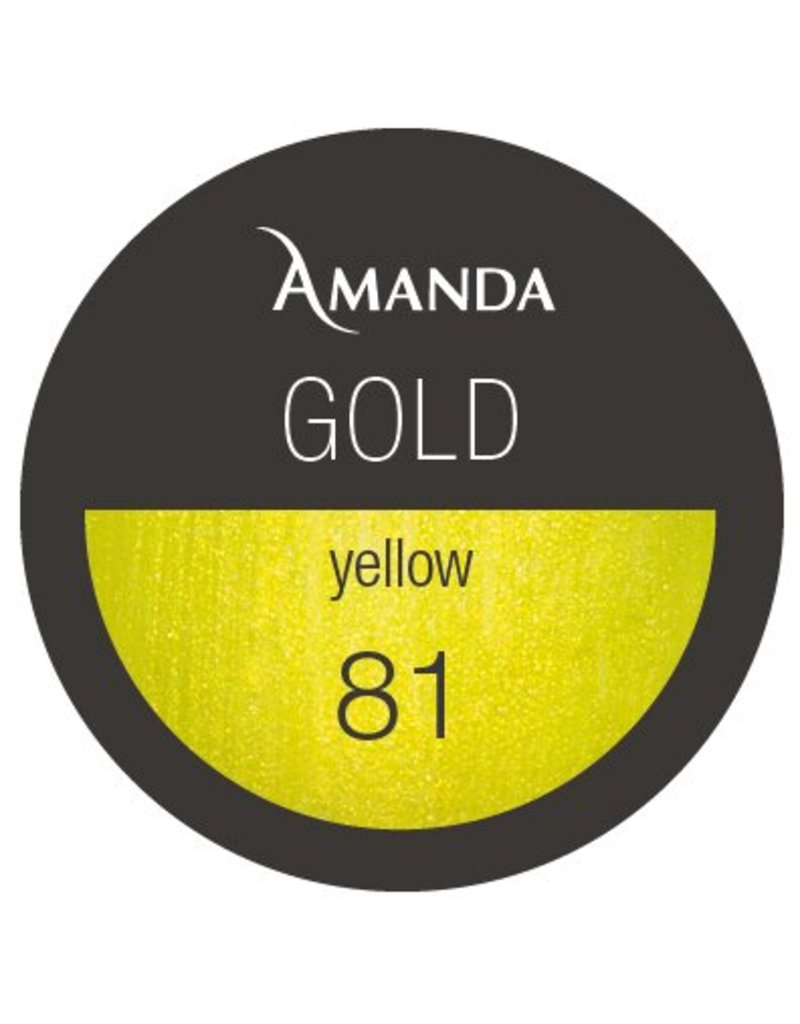 81 / Gold Collection Farbgel yellow 5g
