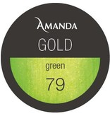 79 / Gold Collection Farbgel green 5g