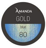 80 / Gold Collection Farbgel blue 5g