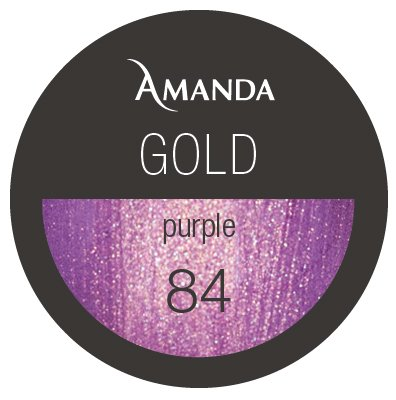 84 / Gold Collection Farbgel purple 5g