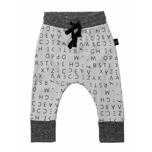 Huxbaby lost alphabet drop crotch pants