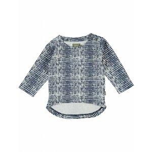 Kidscase baby t-shirt Phoenix blue/off-white