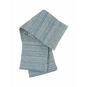 Kidscase baby sjaal Sugar lichtblauw/donkerblauw