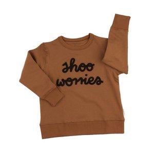 Tinycottons shoo worries graphic sweatshirt