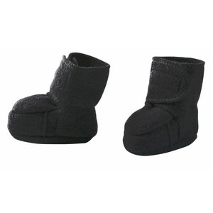 Disana baby booties anthracite
