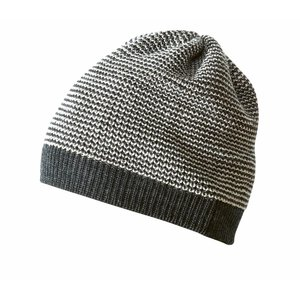 Disana beanie anthracite-gris mélange