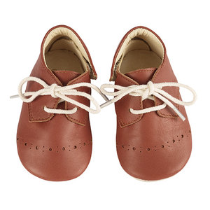 Young Soles Buddy brogue cinnamon