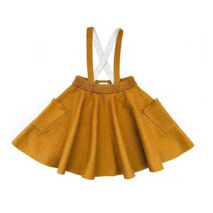 Mabli Troelli spring skirt bronze/ecru