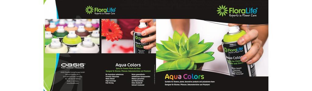 Floralife® Aqua Colors