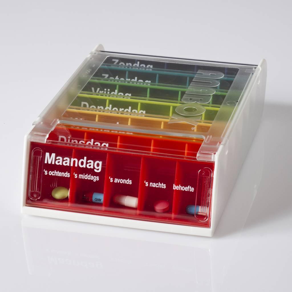 ANABOX Pillendoos met 7 dagboxen in 1 box