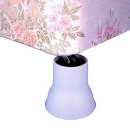 Olifant poten bed- en stoelverhogers 14cm