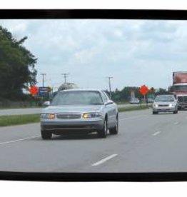 Panoramische binnenspiegel auto