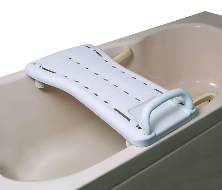Badplank met handgreep