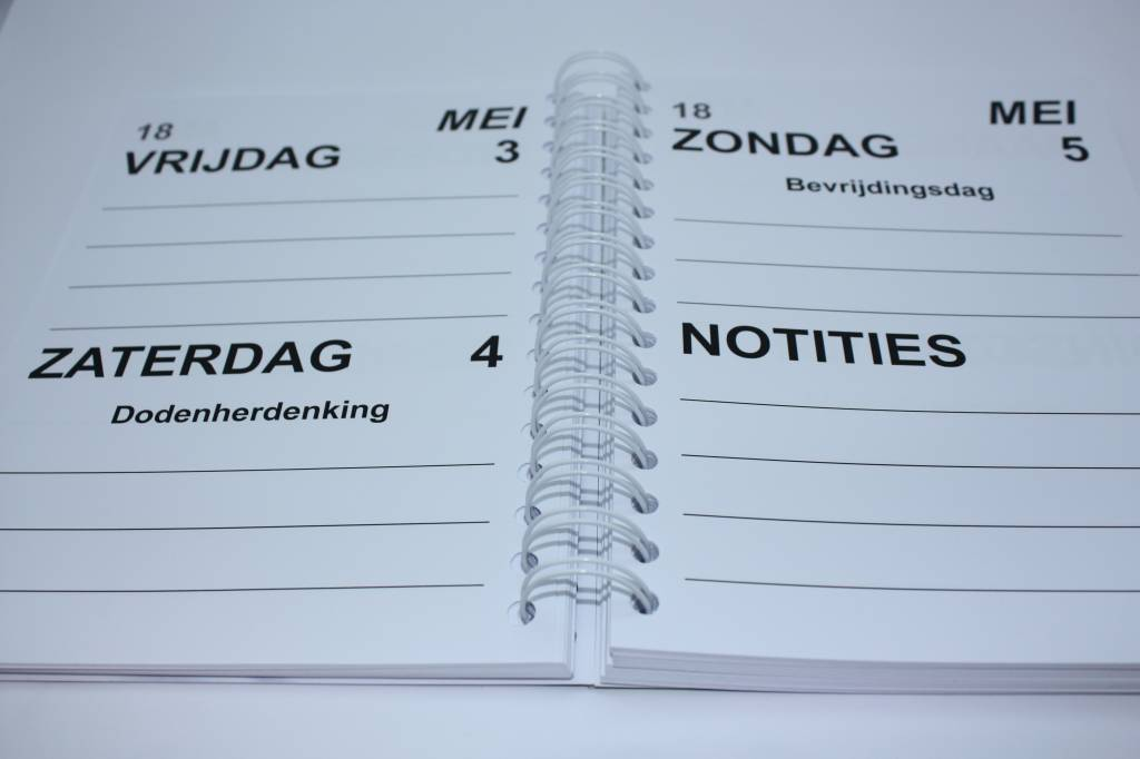 Grootletter agenda 2016 A5