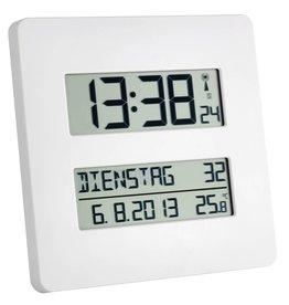 Digitale klok met temperatuur