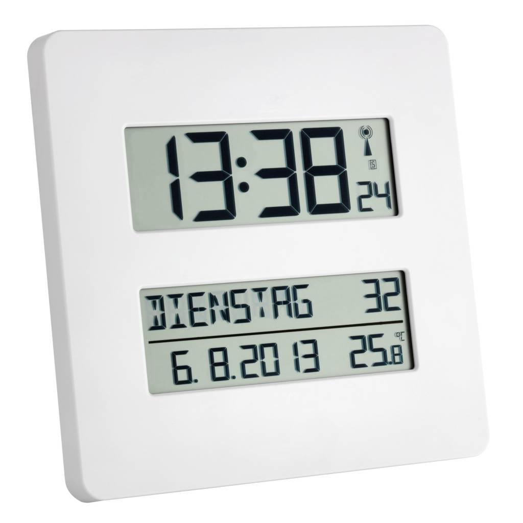 Digitale klok met temperatuur weergave