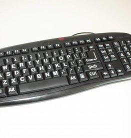 Low Vision Design Grootletter toetsenbord