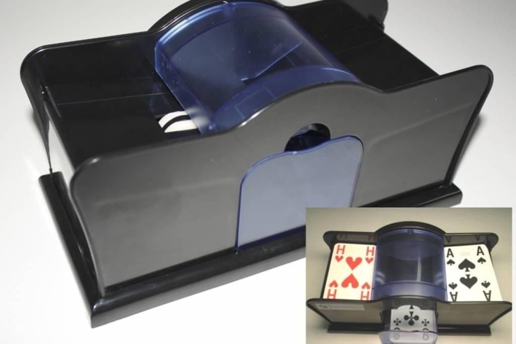 Speelkaarten schudmachine