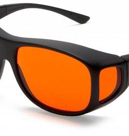 Cocoons Low Vision Overzet-Zonnebril (oranje)