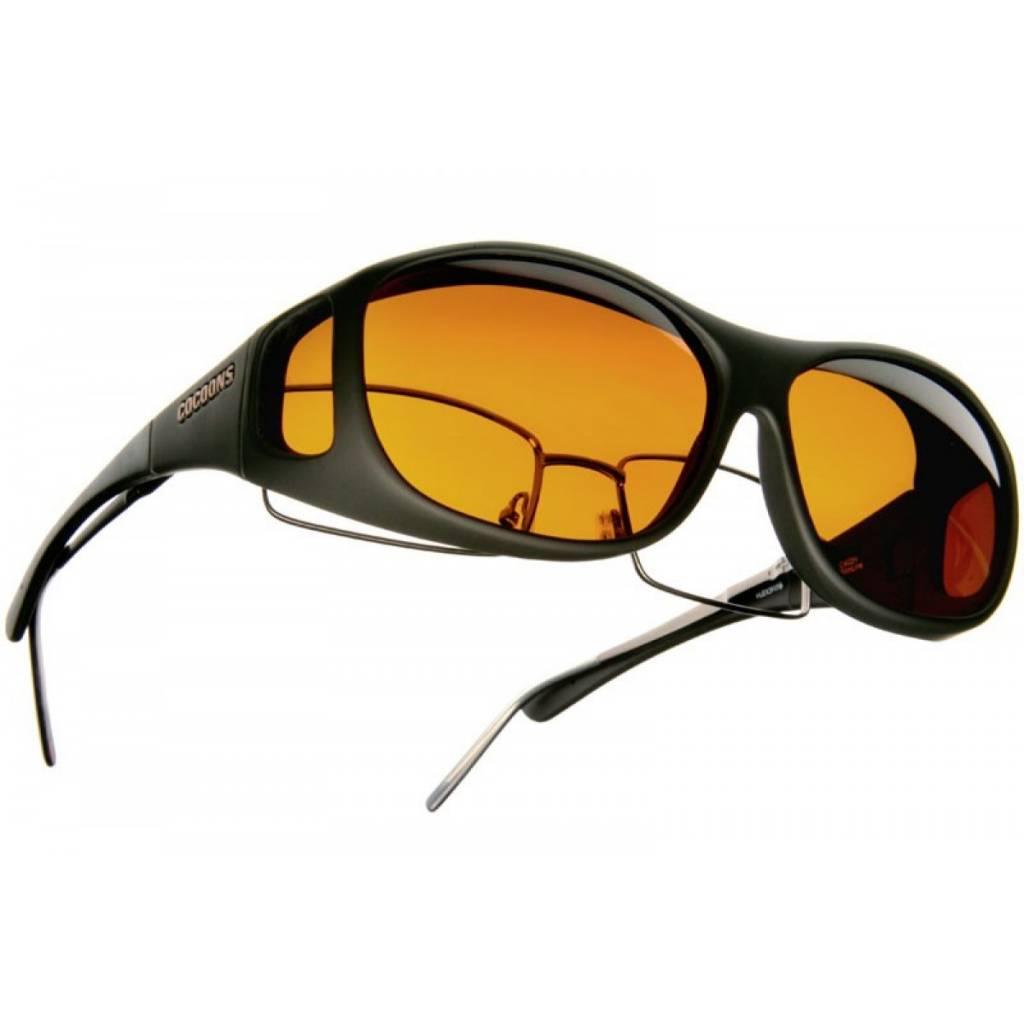 Cocoons Low Vision Overzet-Zonnebril (amber)