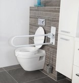 Opklapbare toilet wandbeugel