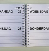 Grootletter agenda 2017 A5
