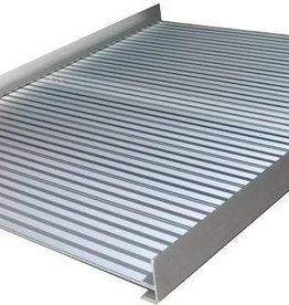 Oprolbare Drempelhulp aluminium