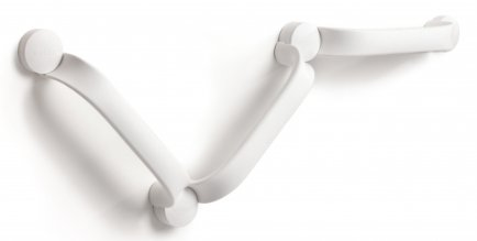 ETAC Flex wandbeugel wit