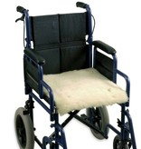 Schapenvacht voor rolstoel zitting