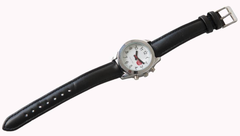 Low Vision Design Nederlands Sprekend Horloge Unisex