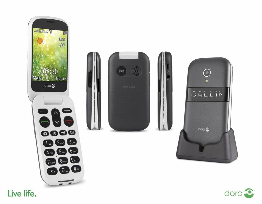 Doro 6050 Senioren GSM klaptelefoon