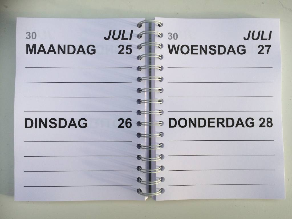 Grootletter agenda 2018 A5