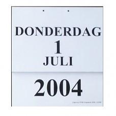 Grooletter Dagkalender 2018
