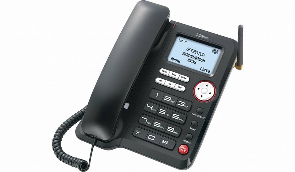 MaxCom MM 29D 3G Huistelefoon met SIM-kaart
