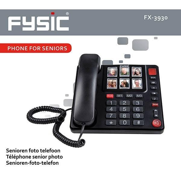 Fysic FX-3930 Seniorentelefoon