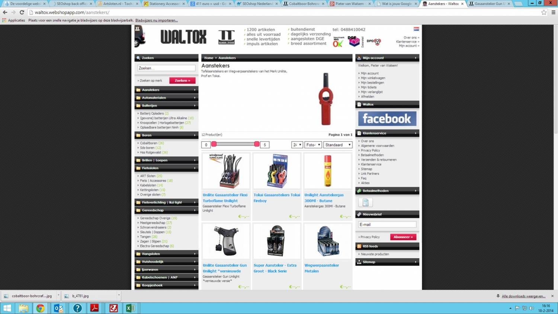 Nieuwe Website voor Waltox