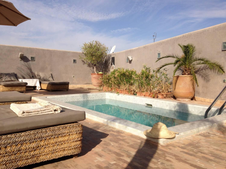 Riad Awa, een luxe Riad gelegen naast het Royal Palace in Marrakech