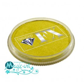 DiamondFX Face-art Metallics Yellow mm1400