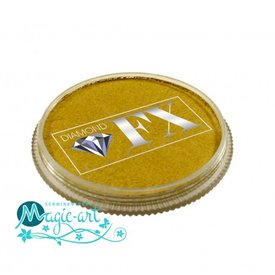 DiamondFX Face-art Metallics Gold mm1100