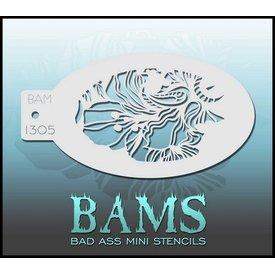 Badass Stencils Bam1305