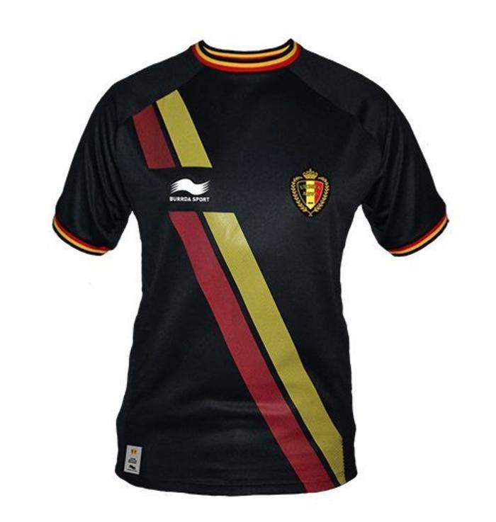 Officieel shirt Rode Duivels (Zwart Truitje uitmatchen)