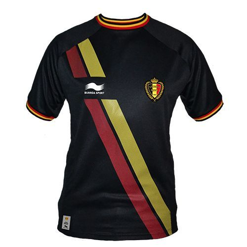 buy official black shirt belgian red devils