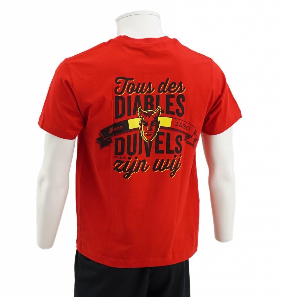 T-shirt Tous des Diables
