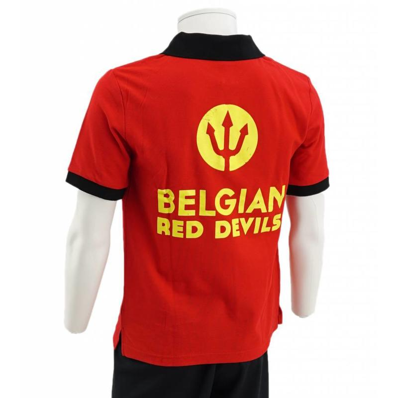 Red Belgian Red Devil Polo