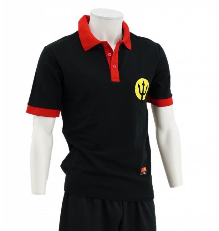 Zwarte Rode Duivels Polo - XXL