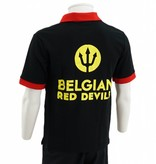 Black Belgian Red Devil Polo