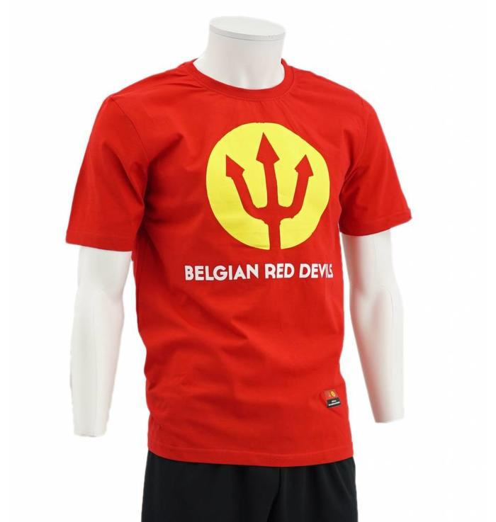 Rode Drietand T-shirt