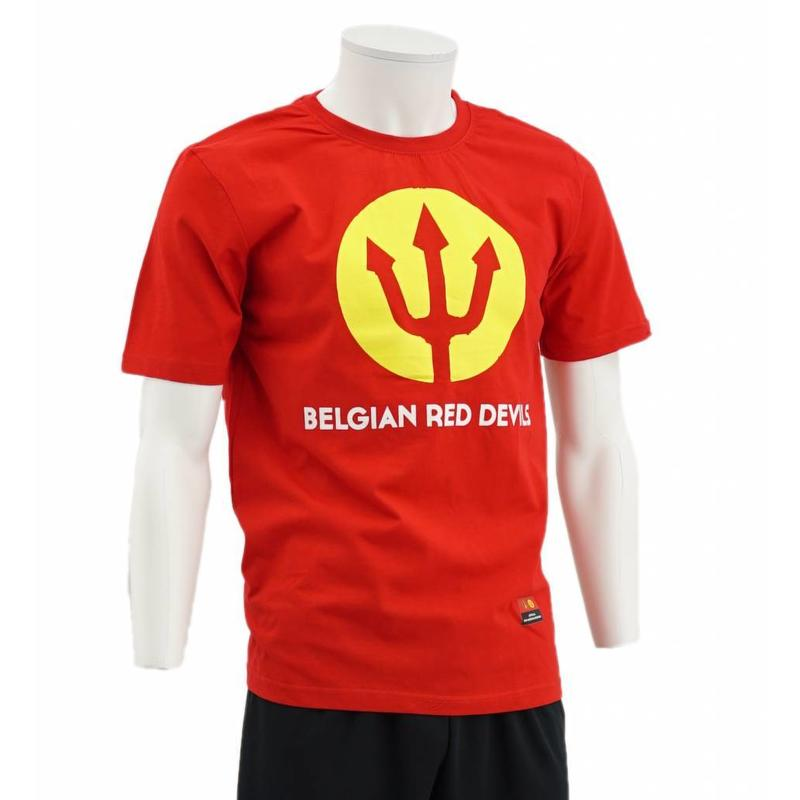 T-shirt Trident Rouge